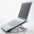 Obrázok pre výrobcu Exponent World Portable Ergo nastaviteľný stojan pod notebook, biely