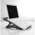 Obrázok pre výrobcu Exponent World Portable Ergo nastaviteľný stojan pod notebook, čierny