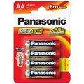 Obrázok pre výrobcu Panasonic Pro Power Alkaline batérie LR6/AA, 4 ks, Blister