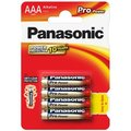 Obrázok pre výrobcu Panasonic Pro Power Alkaline batérie R03/AAA, 4 ks, Blister