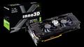 Obrázok pre výrobcu Inno3D GTX 1080 Ti Twin X2, 11GB GDDR5X, DVI, HDMI, DP