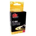 Obrázok pre výrobcu UPrint kompatibil ink s CLI8M, magenta, 14ml, C-8M, pre Canon iP4200, iP5200, iP5200R, MP500, MP800, s čipom