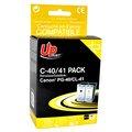 Obrázok pre výrobcu UPrint kompatibil ink s PG40+CL41, black/color, 25+3x18ml, C-40/41 PACK, pre Canon iP1600, 2200, MP150, 170, 450