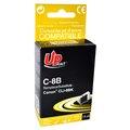 Obrázok pre výrobcu UPrint kompatibil ink s CLI8BK, black, 14ml, C-8B, pre Canon iP4200, iP5200, iP5200R, MP500, MP800, s čipom