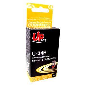 Obrázok pre výrobcu UPrint kompatibil ink s BCI24BK, black, 9ml, C-24B, pre Canon S200, S300, i320, i450, MPC-200, 190