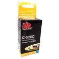 Obrázok pre výrobcu UPrint kompatibil ink s CLI526C, cyan, 10ml, C-526C, pre Canon Pixma MG5150, MG5250, MG6150, MG8150, s čipom