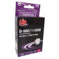 Obrázok pre výrobcu UPrint kompatibil ink s LC-980M, magenta, 12ml, B-980M, pre Brother DCP-145C, 165C