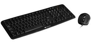 Obrázok pre výrobcu Canyon CNE-CSET1-SK sada plnohodnotná klávesnica, USB, SK, vodeodolná + optická myš 1.000 dpi,, čierne