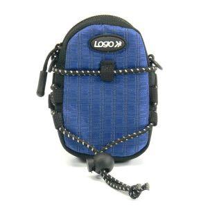Obrázok pre výrobcu Púzdro na fotoaparát, nylón, modré, 10,7 x 6,2 x 2,4cm LOGO