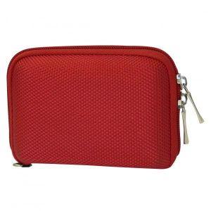 Obrázok pre výrobcu Púzdro na kompaktný fotoaparát, červené, LOGO