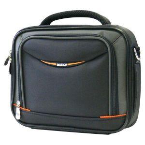 """Obrázok pre výrobcu Taška na netbook 8,9"""", BUSINESS MINI, čierno-oranžová z nylónu, Logo"""