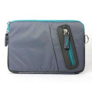 """Obrázok pre výrobcu Taška na tablet 7"""", Fashionable, šedá z polyesteru, Logo"""