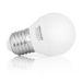 Obrázok pre výrobcu WE LED žárovka SMD2835 G45 E27 5W teplá bílá