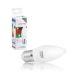 Obrázok pre výrobcu WE LED žárovka SMD2835 C37 E27 5W teplá bílá