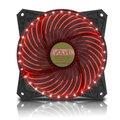 Obrázok pre výrobcu EVOLVEO ventilátor 120mm, LED 33 bodů, červený