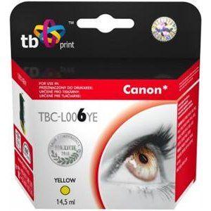 Obrázok pre výrobcu Ink. kazeta TB kompat. s Canon BCI-6Y Yellow