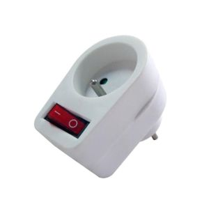 Obrázok pre výrobcu Energenie Switchable plug-in French AC socket, white