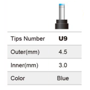 Obrázok pre výrobcu Vyměnitelná koncovka pro adaptéry FSP/Fortron - č. U9