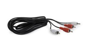 Obrázok pre výrobcu Gembird Kabel CABLEXPERT přípojný 2xcinch/2xcinch, 3m, audio