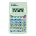 Obrázok pre výrobcu Kalkulačka Sharp, EL233S, biela, vrecková, osemmiestna
