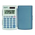 Obrázok pre výrobcu Kalkulačka Sharp, EL243S, šedo-modrá, vrecková, osemmiestna