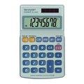 Obrázok pre výrobcu Kalkulačka Sharp, EL250S, šedo-modrá, vrecková, osemmiestna