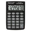 Obrázok pre výrobcu Kalkulačka Rebell, RE-HC108 BX, čierna, vrecková, osemmiestna