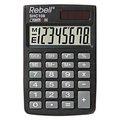 Obrázok pre výrobcu Kalkulačka Rebell, RE-SHC108 BX, RE-SHC100N BX, čierna, vrecková, osemmiestna