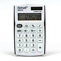 Obrázok pre výrobcu Kalkulačka Rebell, RE-SHC312BK BX, bielo-čierna, vrecková, dvanásťmiestna