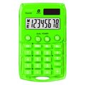Obrázok pre výrobcu Kalkulačka Rebell, RE-STARLETG BX, zelená, vrecková, osemmiestna