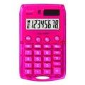Obrázok pre výrobcu Kalkulačka Rebell, RE-STARLETP BX, ružová, vrecková, osemmiestna