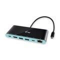 Obrázok pre výrobcu i-tec USB-C 4K Travel dokovacia stanica, 1x HDMI 4K Ultra HD, 1x GLAN, 2x USB 3.0