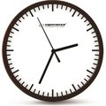 Obrázok pre výrobcu Esperanza EHC010W BUDAPEST nástenné hodiny, biele