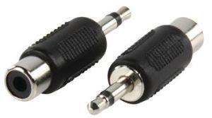 Obrázok pre výrobcu Valueline AC-001 - Mono Audio adaptér 3.5mm zástrčka - CINCH zásuvka, černá