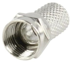Obrázok pre výrobcu Valueline FC-001 - F-Konektor 7.0 mm zástrčka Kov Stříbrná