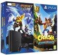 Obrázok pre výrobcu PS4 - PlayStation 4 černý 500GB + 2 hry: Crash Bandicoot + Ratchet&Clank