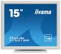 """Obrázok pre výrobcu 15"""" LCD iiyama T1531SR-W3 -5 žilový,8ms,350cd,VGA,DVI,USB,RS232C,repro,IP54,bílý"""