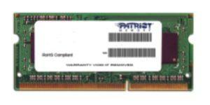 Obrázok pre výrobcu SO-DIMM 2GB DDR3L-1600MHz PATRIOT 1,35V
