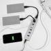 Obrázok pre výrobcu AXAGON HUE-SA7SP 7x USB3.0 ALU CHARGING hub SILVER vč. AC adapteru