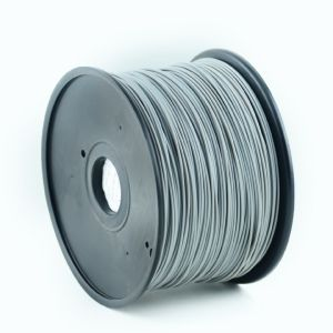 Obrázok pre výrobcu GEMBIRD Struna pro 3D tisk, PLA, 1,75mm, 1kg, 330m, šedá