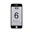 Obrázok pre výrobcu 4D tvrzené sklo Apple iPhone 6 Black (FULL GLUE)
