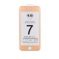 Obrázok pre výrobcu 4D tvrzené sklo Apple iPhone 7 Gold (FULL GLUE)