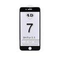 Obrázok pre výrobcu 4D tvrzené sklo Apple iPhone 7 Plus Black (FULL GLUE)