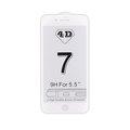Obrázok pre výrobcu 4D tvrzené sklo Apple iPhone 7 Plus White (FULL GLUE)