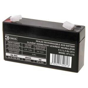 Obrázok pre výrobcu AKUMULÁTOR SLA 6V/1,3Ah FA -4,7mm