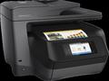 Obrázok pre výrobcu HP All-in-One Officejet Pro 8725 (A4, 24/20 ppm, USB 2.0, Ethernet, Wi-Fi, Print/Scan/Copy/Fax)