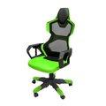 Obrázok pre výrobcu Herné stolička E-Blue COBRA AIR, zelené, priedušný chrbát