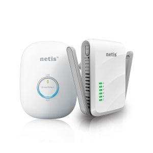 Obrázok pre výrobcu Netis HomePlug Kit A/V 300Mbps (2 pieces) PL7622KIT
