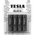 Obrázok pre výrobcu TESLA BLACK+ alkalická baterie AA (LR06, tužková, blister) 4 ks