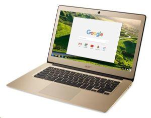 "Obrázok pre výrobcu Acer Chromebook 14 Celeron N3160/4GB/A/eMMC 64GB/A/HD Graphics/14"" FHD IPS matný/BT/Google Chrome/Gold"